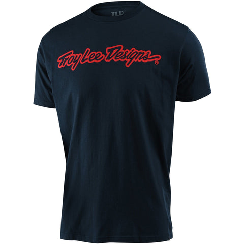 Troy Lee Designs T-Shirt Signature - Navy 2020