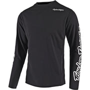 Krekls Troy Lee Designs Sprint Solid - Black 2020