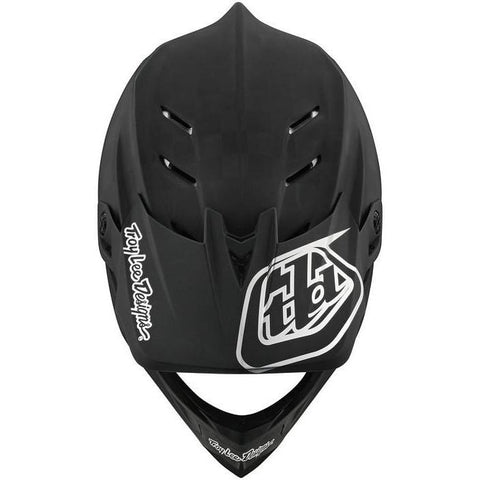 Troy Lee Desgins D4 Carbon Helmet Visor Stealth - Black/Silver
