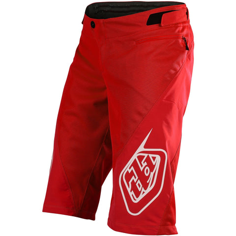 Troy Lee Designs Sprint Shorts Solid - Red 2020