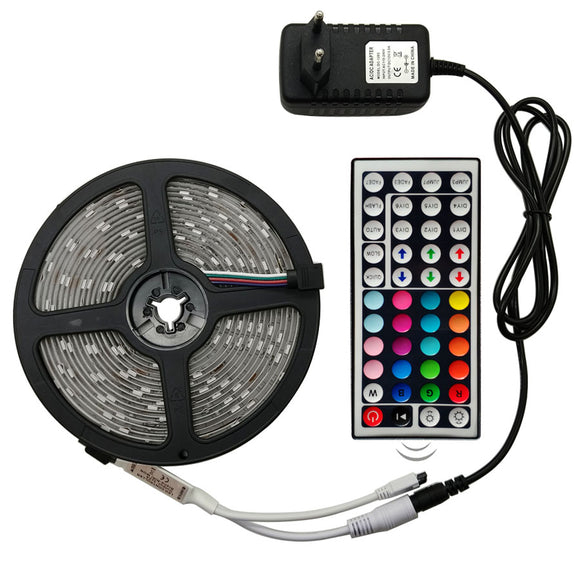 LED Strip Light RGB (Remote Control +Adapter) - Salezeal