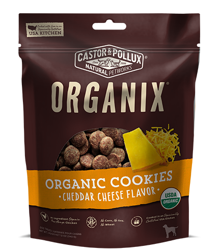 Castor and Pollux Organix Cheddar Dog Treats