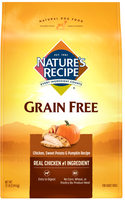 Nature's Recipe Grain Free Chicken, Sweet Potato & Pumpkin Dry Dog Food