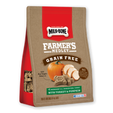 Milk-Bone Farmer's Medley Grain Free Biscuits with Turkey & Pumpkin Dog Treats