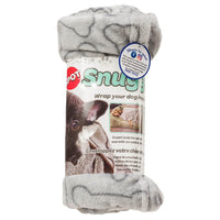 Ethical Pet Grey Bones Snuggler Blanket