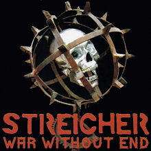 "STREICHER ""War Without End"" CD"