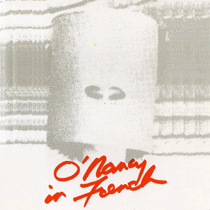 "O'NANCY IN FRENCH ""O'Nancy In French"" CD"