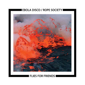 "EBOLA DISCO / ROPE SOCIETY ""Flies For Friends"" LP"