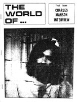 """The World Of ... First Issue: Charles Manson Interview"" Zine"