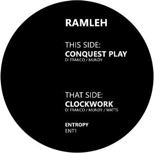 "RAMLEH ""Conquest Play / Clockwork"" 12inch"