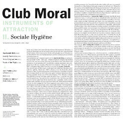 "CLUB MORAL ""Instruments Of Attraction (II. Sociale Hygiene)"" 10inch"