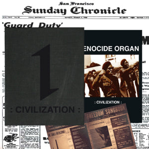 "GENOCIDE ORGAN ""Civilization"" 2xCD Box"