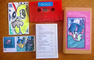 "VARIOUS ARTISTS ""Many Dogs Are Dumb...: Art Edition"" C60"