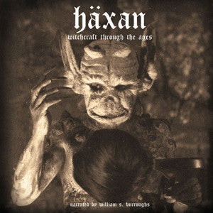 "WILLIAM S. BURROUGHS ""Häxan: Witchcraft Through The Ages"" CD"