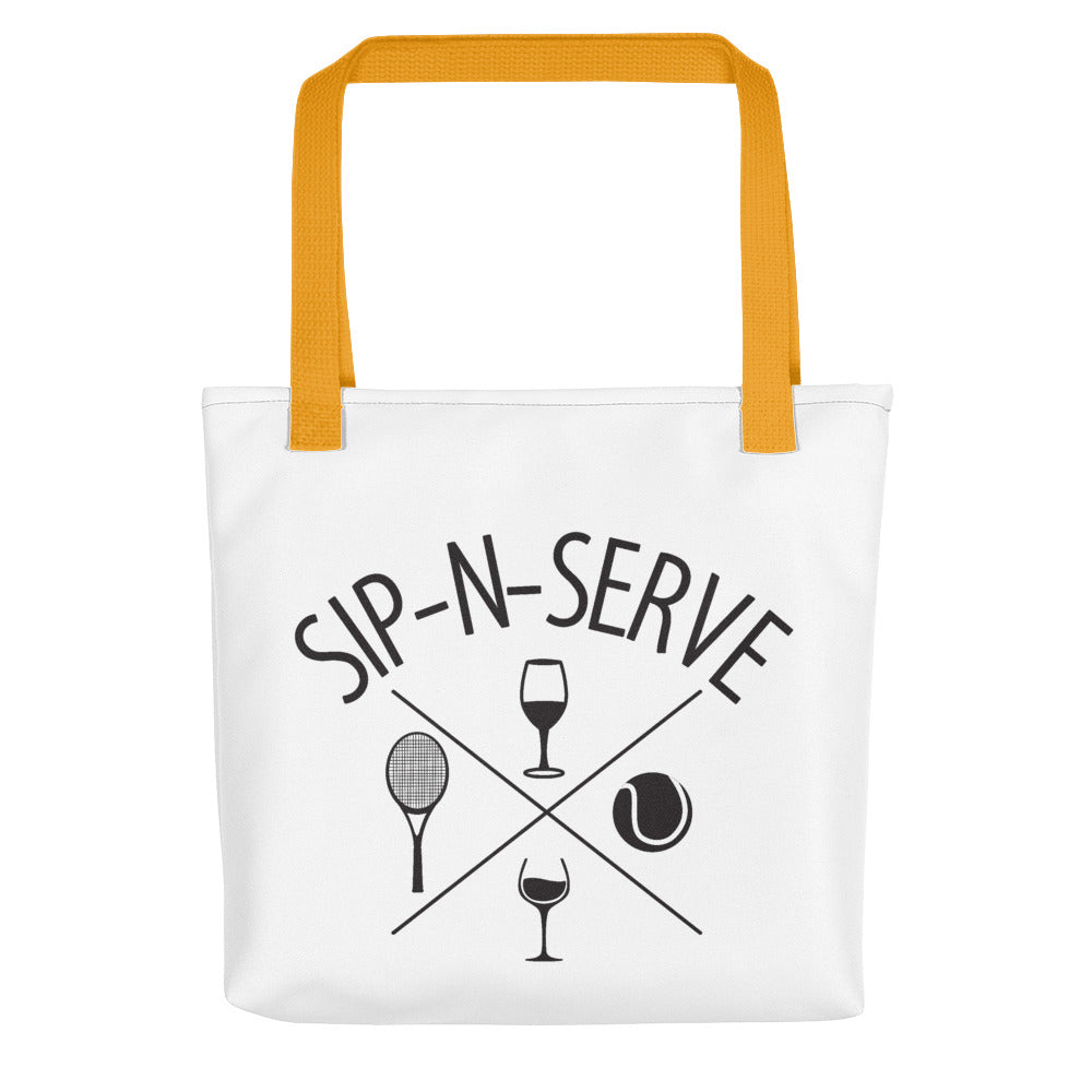 Sip-N-Serve Tote bag