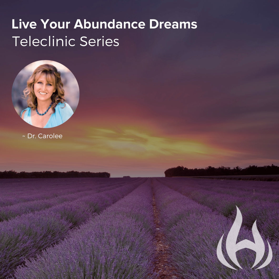 Live Your Abundance Dreams Teleclinic Series