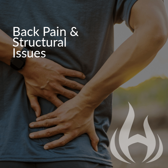 Back Pain and Structural Issues