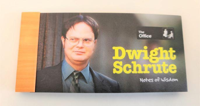 The Office Dwight Schrute Lunch Notes