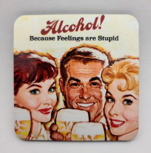 Alcohol! Feelings Coaster