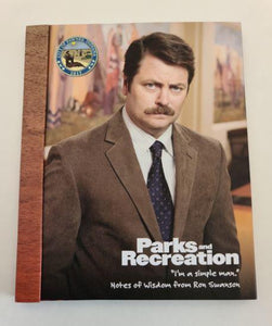 Parks and Recreation Ron Swanson Notes of Wisdom
