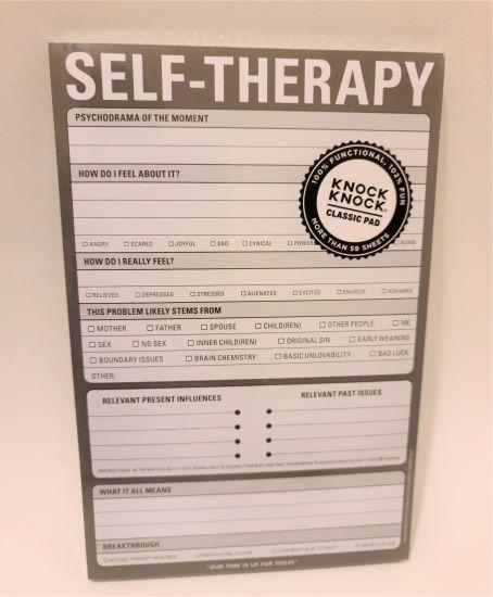 Self Therapy Notepad