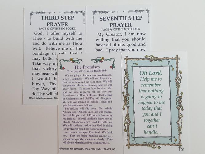 101 - Bi-Fold Promises & 3rd/7th Step Prayers
