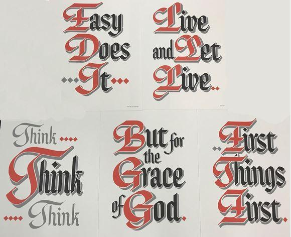 MS04 - Slogans - Set of Five