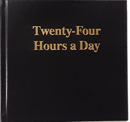 1052 - Twenty-Four Hours a Day - Large Print