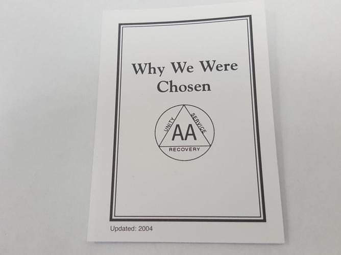 Why We Were Chosen Card