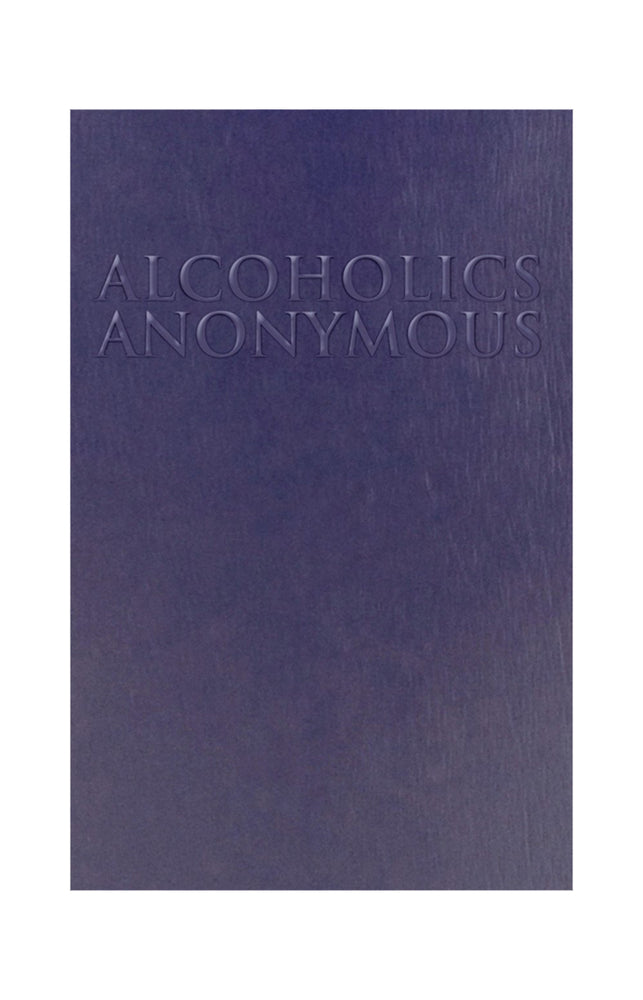 B30 - Alcoholics Anonymous - Soft Cover