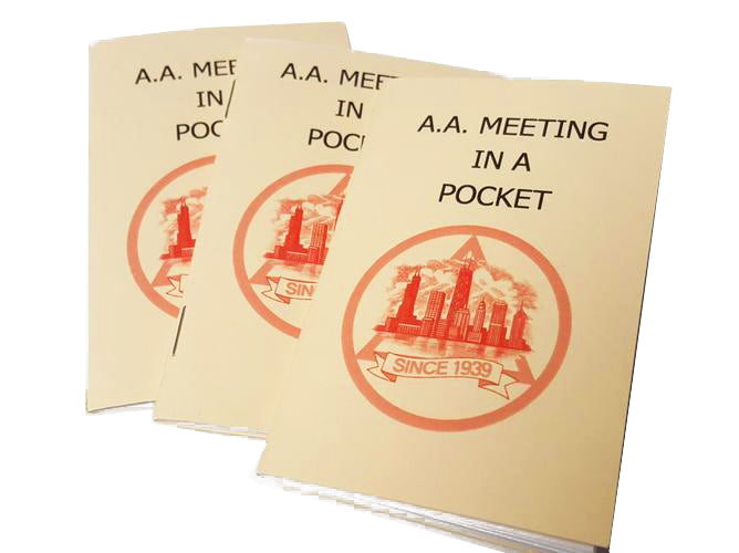 AA Meeting In A Pocket