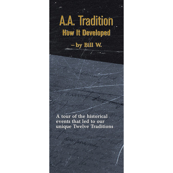 P17 - AA Trad. - How It Developed