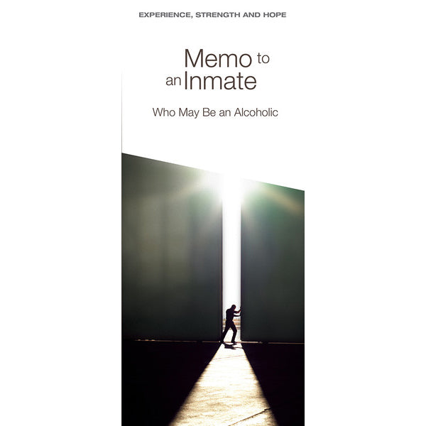P9 - Memo to an Inmate Who May Be An Alcoholic