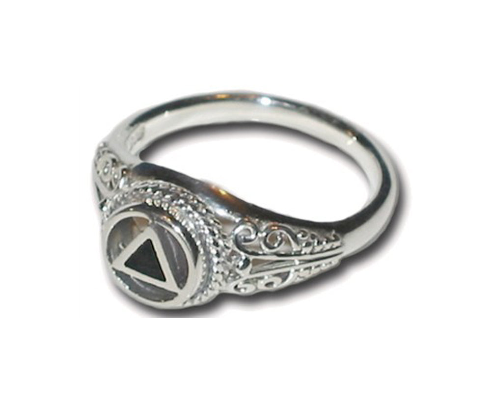 Scroll Ring - Sterling Silver