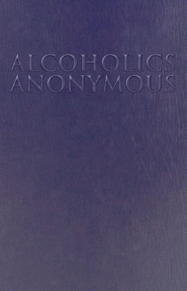 B16 - Alcoholics Anonymous - Large Print