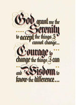 M5 - Serenity Prayer - Parchment