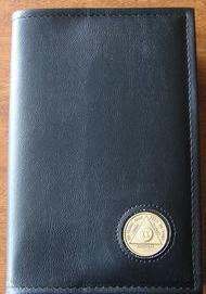 BC04 - Big Book - Black - Hard Cover W/Coin