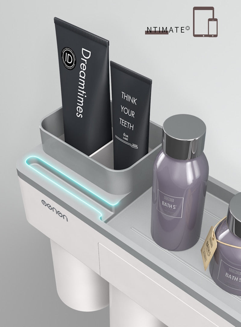 Automatic Toothpaste Dispenser Set