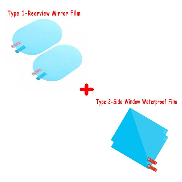 Mirror Anti-Fog Protective Film - 2PCS