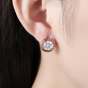 Beautiful Swarovski Crystal liverback earrings for Women