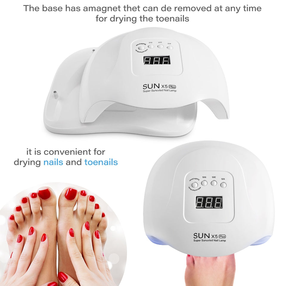 Auto Sensing  UV LED Nail Lamp Dryer
