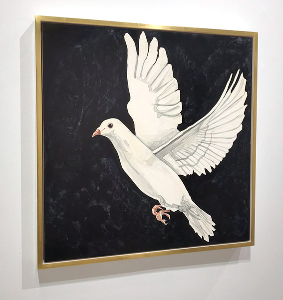 "Annika Connor ""Dove Diptych"""