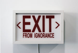 "Cabell Molina ""EXIT from IGNORANCE"""
