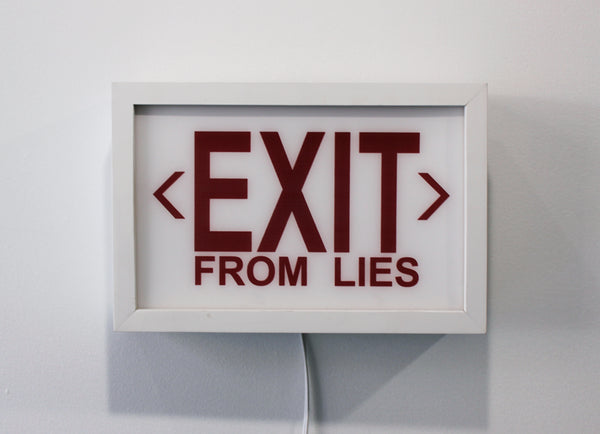 "Cabell Molina ""EXIT from LIES"""