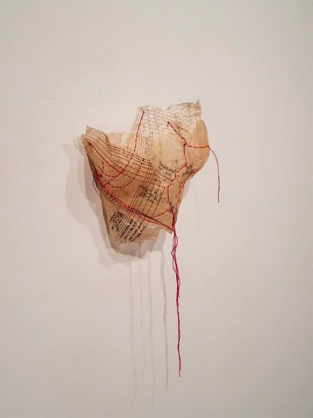 "Christy O'Connor ""Carried Trauma I"""