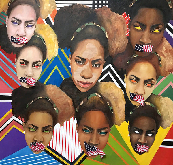 "D'nae Harrison ""SHADED OPPRESSION"""