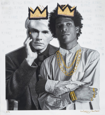 "Karen Bystedt ""HIP HOP KINGS: ANDY & BASQUIAT PIMPED OUT"""