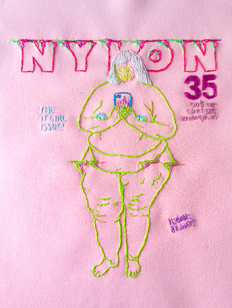 "Katy Itter ""The It Girl Issue (Nylon Cover)"""
