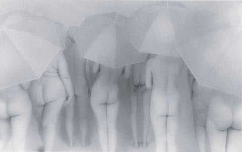 "Lynn Bianchi ""Women with Umbrellas"""