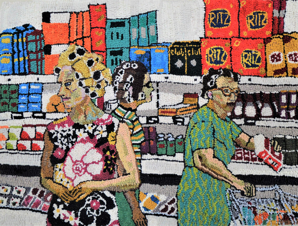 "Mary Tooley Parker ""Marceil, Cynthia, and Ruth at the Piggly Wiggly"""